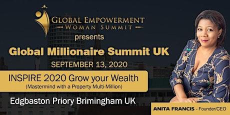 Global Millionaire Summit UK 2020 tickets