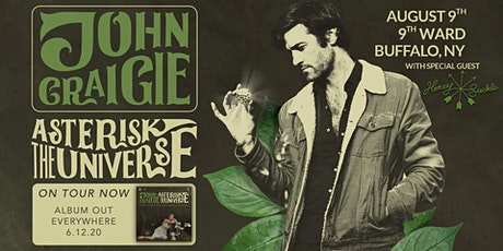 John Craigie live in the 9th Ward (rescheduled from 4/27) tickets