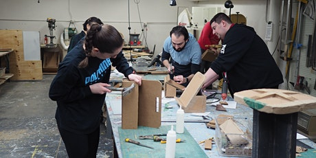 Introduction to Cardboard Carpentry and Adaptive Design tickets