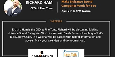 Webinar with Richard Ham – CEO of Fine Tune