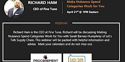 Webinar with Richard Ham – CEO of Fine Tune