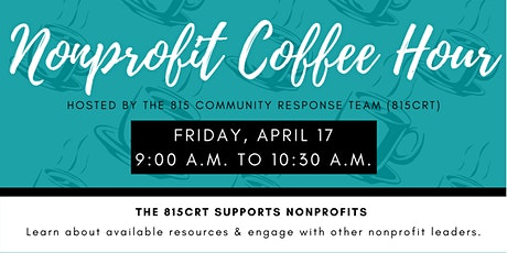 Nonprofit Coffee Hour: Nonprofit COVID-19 Resources & Leadership Discussion tickets