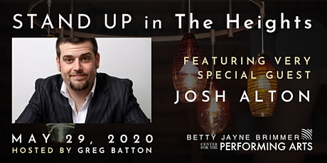 STAND UP IN THE HEIGHTS PRESENTS: JOSH ALTON ($10 ADVANCE/ $15 DAY OF SHOW) tickets