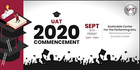 UAT 2020 Commencement tickets
