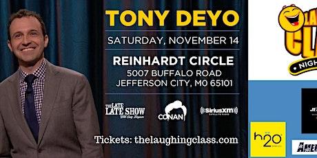 Tony Deyo Stand Up, Sponsored By Jett Insurance tickets