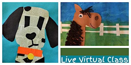 Barnyard Buddies Weekly Class (3-6 Years) - LIVE VIRTUAL CLASS! tickets