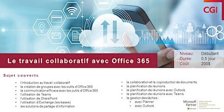 Le travail collaboratif avec Office 365 billets