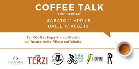 COFFEE TALK - LIVE STREAMING biglietti