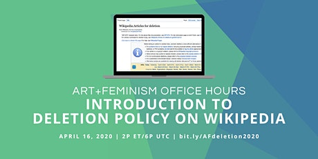 Office Hours:  Introduction to Deletion Policy on Wikipedia tickets
