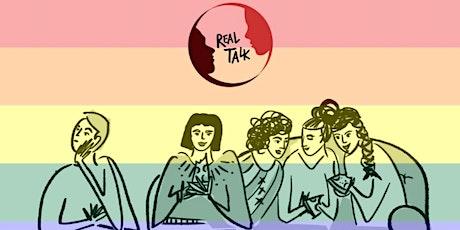 April Real Talk LGBTQ Snacks & Chat - Zoom Meeting tickets