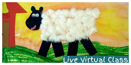 Nursery Rhyme Time Weekly Class (3-6 Years) - LIVE VIRTUAL CLASS! tickets