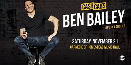 Cash Cab's Ben Bailey - Live in Concert tickets
