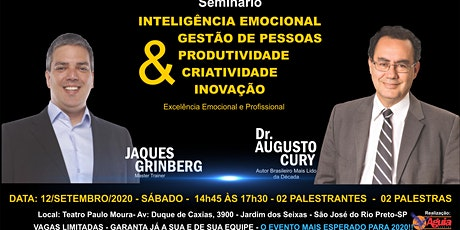 DR. AUGUSTO CURY EM SÃO JOSÉ DO RIO PRETO-SP ingressos
