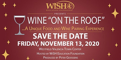 "WINE ""ON THE ROOF"" - A Unique Wine and Food Pairing Experience! tickets"
