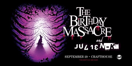 The Birthday Massacre and Julien-K tickets