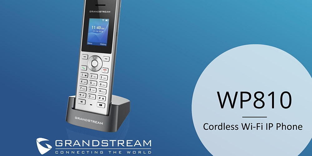 Điện thoại ip Grandstream WP810