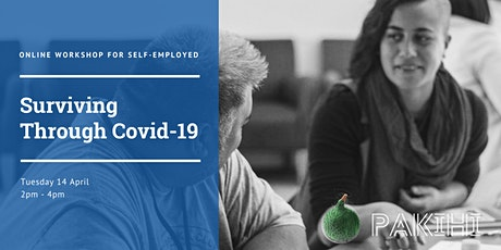 Online Workshop for Self-Employed: Surviving Through Covid-19 tickets