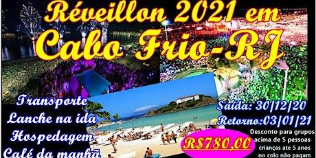 Réveillon 2021 em Cabo Frio-RJ bilhetes
