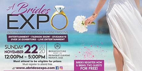 A Brides Expo 2020 tickets