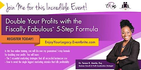Double Your Profits ... $100K Initiative tickets