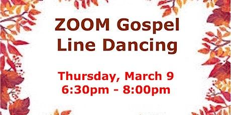 ZOOM Gospel Line Dancing biglietti