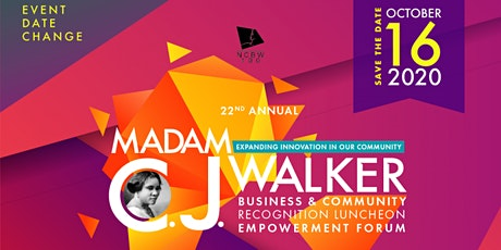 22nd Annual Madam C.J. Walker Luncheon & Empowerment Forum tickets
