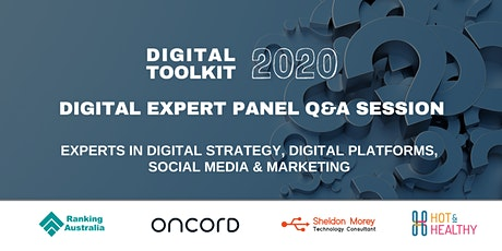 Digital Toolkit 2020: Digital Expert Panel Q&A Discussion tickets