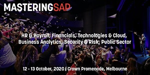 Mastering SAP Conferences - October 2020