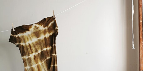 Zero Waste Natural Dyeing - Live class tickets