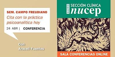 Afectos bajo transferencia. Conferencia de Araceli Fuentes