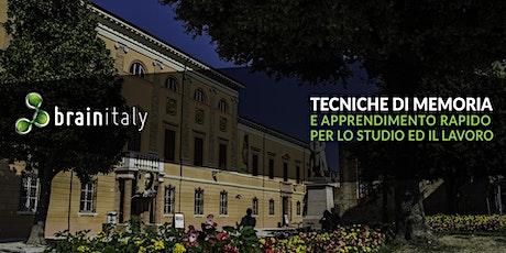 Cesena: Corso gratuito di memoria biglietti