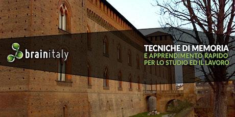 Pavia: Corso gratuito di memoria tickets