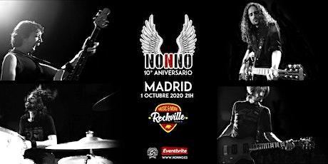 NONNO 10º  Aniversario en MADRID entradas