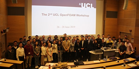 The 3rd UCL OpenFOAM Workshop tickets