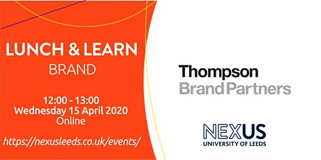 Lunch and Learn - Brand tickets