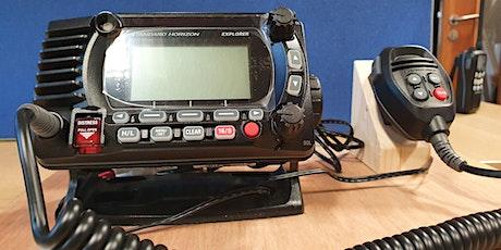 VHF Short Range Certificate tickets