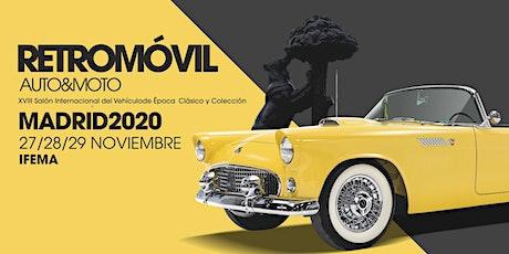 Retromóvil Madrid, XVIII Salón Internacional del Vehículo de Época tickets