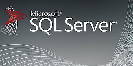 4 Weeks SQL Server Training in Bern for Beginners | T-SQL Training | Introduction to SQL Server for beginners | Getting started with SQL Server | What is SQL Server? Why SQL Server? SQL Server Training | May 11, 2020 - June 3, 2020 billets