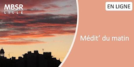 MBSR Lille - Médit'du matin (Mardi matin) billets