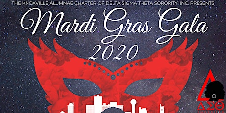 Knoxville Alumnae Chapter Delta Sigma Theta Mardi Gras Gala Fall 2020 tickets
