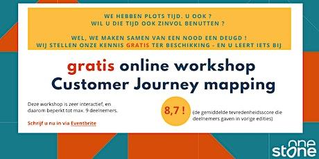 Gratis Online Workshop Customer Journey mapping tickets