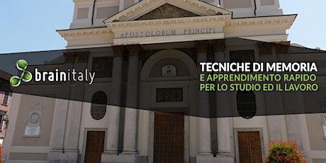 Alessandria: Corso gratuito di memoria biglietti