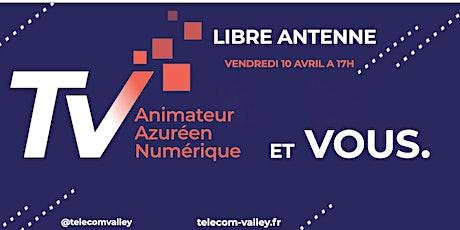 Webinar Libre Antenne : Les aides financières 10 Avril 2020 - TELECOM VALLEY billets