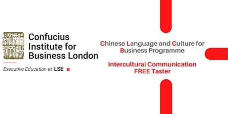 Business Chinese : Intercultural Communication FREE Taster Session tickets