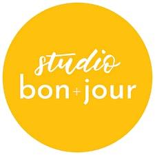 studio bon+jour logo