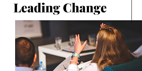 Prepare Managers to Lead Change! (Change Management Training) tickets