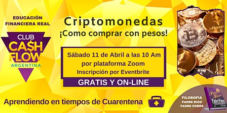 Criptomonedas como comprar con pesos! entradas