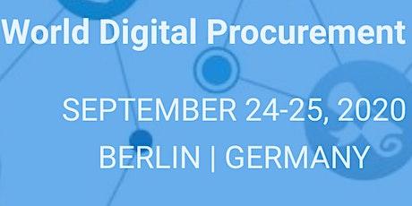 2nd World Digital Procurement Summit tickets