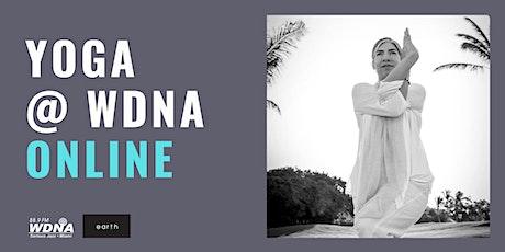 Yoga at WDNA - Online! tickets