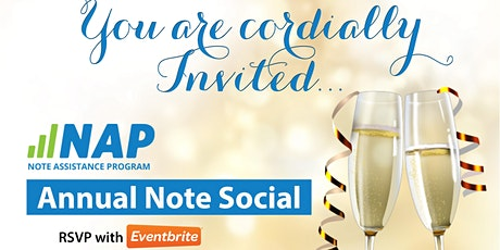 Annual Note Social (VEGAS!!)  by The Note Assistance Program tickets
